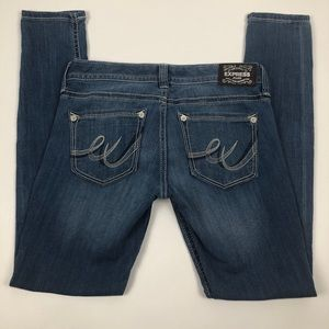 Express Legging Low rise Jeans 6R